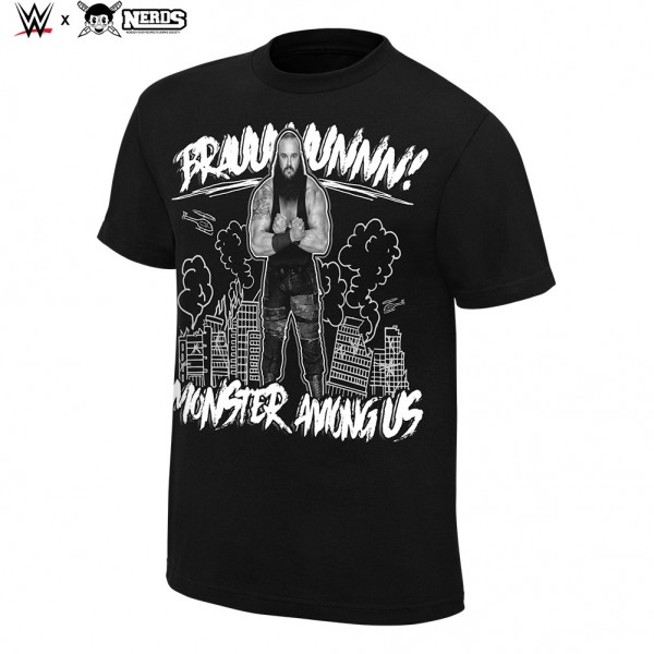 "Braun Strowman ""Monster Among Us"" Neon Collection Graphic T-Shirt"