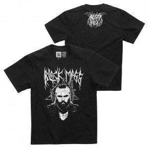 """Aleister Black """"Black Mass"""" Youth Authentic T-Shirt"""