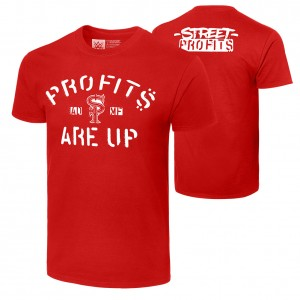 "Street Profits ""Profits Are Up"" Authentic T-Shirt"