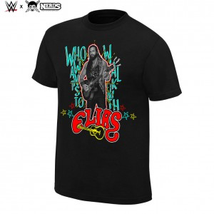 "Elias ""WWE"" Neon Collection Graphic T-Shirt"