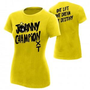 "Johnny Gargano ""Johnny Champion"" Women's Authentic T-Shirt"
