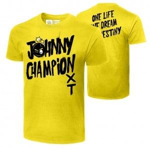 "Johnny Gargano ""Johnny Champion"" Authentic T-Shirt"