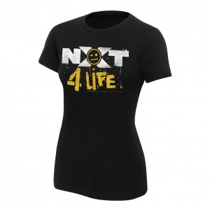 "Johnny Gargano ""NXT 4 Life"" Women's Authentic T-Shirt"