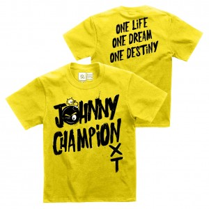 "Johnny Gargano ""Johnny Champion"" Youth Authentic T-Shirt"