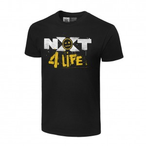 "Johnny Gargano ""NXT 4 Life"" Authentic T-Shirt"