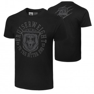 "Pete Dunne ""Bruiserweight Bear"" Authentic T-Shirt"