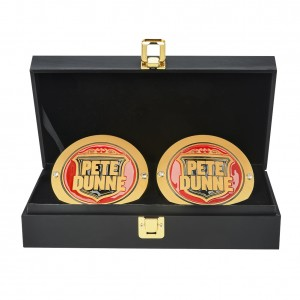 Pete Dunne NXT UK Championship Replica Side Plate Box Set