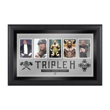 Triple H Evolution of a Superstar Plaque