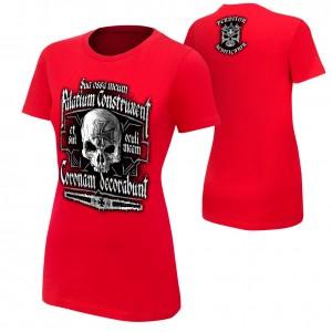 "Triple H ""Crimson King"" Red Women's Authentic T-Shirt"
