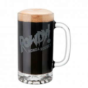 Ronda Rousey 16 oz. Glass Mug