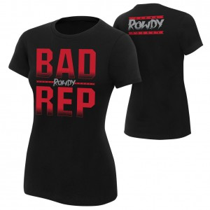 "Ronda Rousey ""Bad Rep"" Women's Authentic T-Shirt"