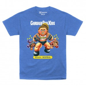 "Ronda Rousey ""Rowdy Ronda"" Garbage Pail Kids T-Shirt"