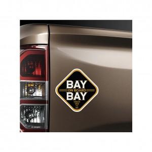 "Adam Cole ""Bay Bay on Board"" Car Magnet"