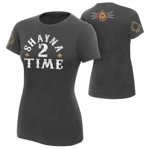 "Shayna Baszler ""Shayna 2 Time"" Women's Authentic T-Shirt"