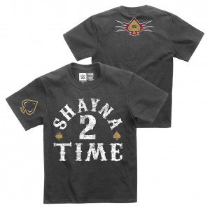 "Shayna Baszler ""Shayna 2 Time"" Youth Authentic T-Shirt"