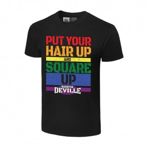 "Sonya Deville ""Square Up"" Pride Collection T-Shirt"
