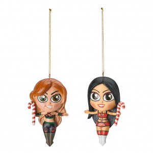 The IIconics Elf Ornaments