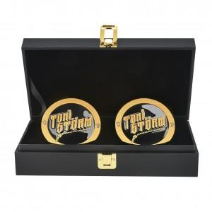 Toni Storm NXT UK Championship Replica Side Plate Box Set