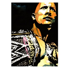 The Rock 11 x 14 Art Print