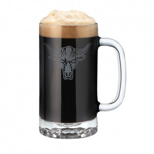 The Rock 16 oz Glass Mug