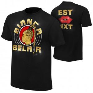 "Bianca Belair ""Est of NXT"" Authentic T-Shirt"