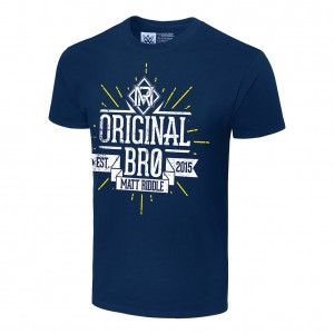"Matt Riddle ""Original Bro"" Youth Authentic T-Shirt"
