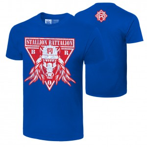 "Matt Riddle ""Stallion Battalion"" Authentic T-Shirt"