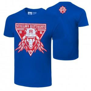 """Matt Riddle """"Stallion Battalion"""" Authentic T-Shirt"""