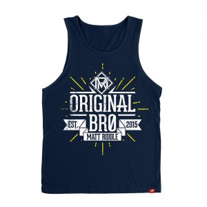 "Matt Riddle ""Original Bro"" Sportiqe Tank Top"
