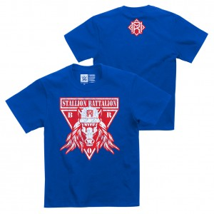 "Matt Riddle ""Stallion Battalion"" Youth Authentic T-Shirt"