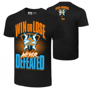 "Zack Ryder & Curt Hawkins ""Never Defeated"" Authentic T-Shirt"