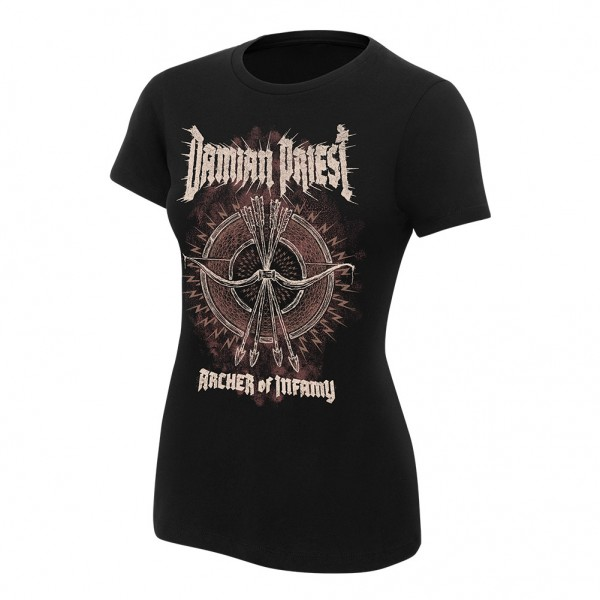 "Damian Priest ""Archer of Infamy"" Women's Authentic T-Shirt"