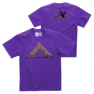 "Cedric Alexander ""The Age of Alexander"" Youth Authentic T-Shirt"