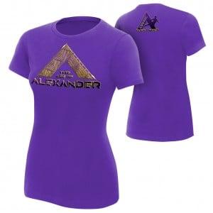 "Cedric Alexander ""The Age of Alexander"" Women's Authentic T-Shirt"