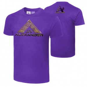 "Cedric Alexander ""The Age of Alexander"" Authentic T-Shirt"