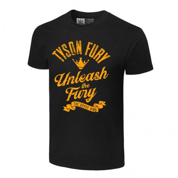 "Tyson Fury ""Unleash the Fury"" Authentic T-Shirt"