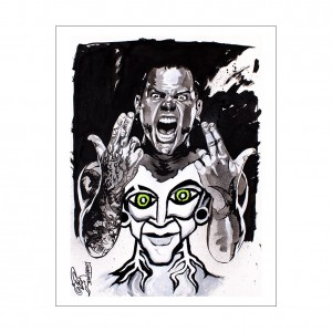 Jeff Hardy Rob Schamberger 11 x 14 Art Print