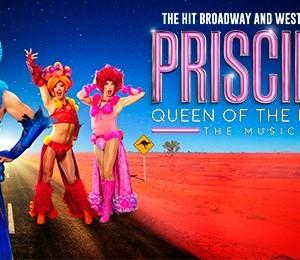 Priscilla Queen Of The Desert The Musical at Bristol Hippodrome Theatre