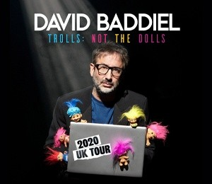 David Baddiel - Trolls: Not The Dolls at Grand Opera House York