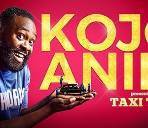 Kojo Anim presents The Taxi Tour at Theatre Royal Brighton