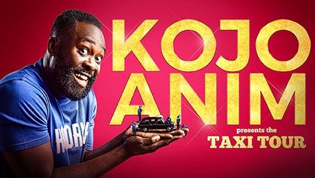Kojo Anim presents The Taxi Tour at Theatre Royal Brighton