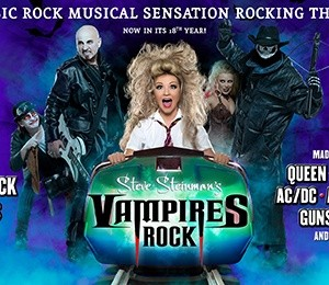 Steve Steinman's Vampires Rock - Ghost Train at Grand Opera House York