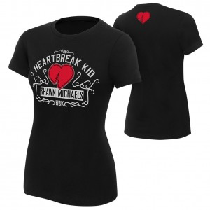 "Shawn Michaels ""The Heartbreak Kid"" 2018 Women's Authentic T-Shirt"