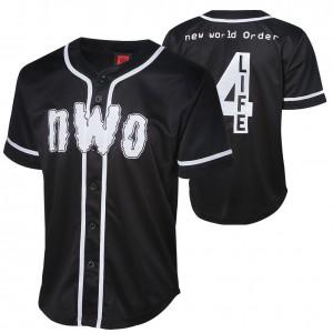 "nWo "" nWo 4 Life"" Baseball Jersey"