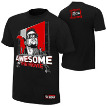 "The Miz ""Awesome: The Movie"" Authentic T-Shirt"