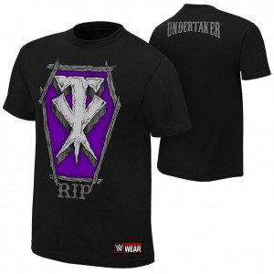"The Undertaker ""RIP"" Authentic T-Shirt"