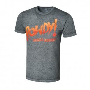 "Ronda Rousey ""Rowdy Ronda"" Acid Wash T-Shirt"