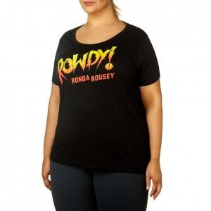 "Ronda Rousey ""Rowdy Ronda"" Women's Curvy T-Shirt"