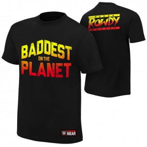 "Ronda Rousey ""Baddest On The Planet"" Authentic T-Shirt"