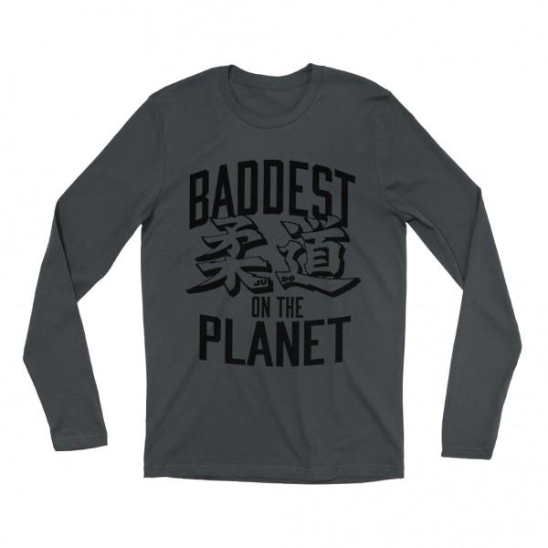 "Ronda Rousey ""Baddest on the Planet"" Long Sleeve T-Shirt"